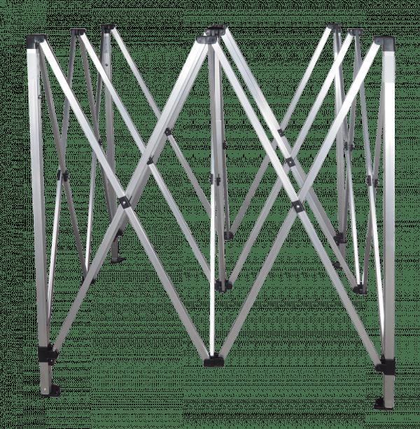 Hliníková konstrukce 3x3m